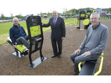 Portglenone village renewal works complete