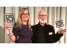 NLA's landskapsarkitekturpris og ærespris overrakt til LINKs Anne Pia Møllenhus og Bjarne Aasen