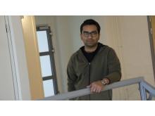 Anshuman Bhardwaj, forskare i atmosfärsvetenskap vid Luleå tekniska universitet.