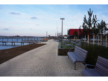 Neue Yachthafenpromenade