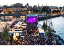 Skeppsbroscenen under Stockholms kulturfestival