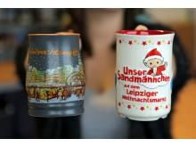 Die diesjährigen Leipziger Weihnachtsmarkttassen