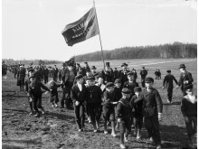 Rösträttsdemonstration 1901