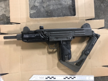 Recovered Uzi SMG [1]