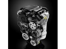 Peugeot leder loppet mot låga koldioxidutsläpp - Peugeots 1,6-liters HDi-motor