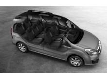 Peugeot Partner Tepee är redo för nya äventyr