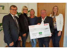 RestCent-Spendenübergabe Kinder-Palliativ-Hilfe Niederbayern