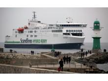"""Scandlines' zweite neue Hybridfähre """"Copenhagen"""" nimmt den Betrieb auf"""