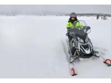 Bjørn amundsen på scooter breddebilde