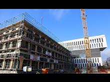 ZÜBLIN, eigener Erweiterungsbau, Karlsruhe