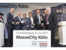MesseCity Köln, Grundsteinlegung