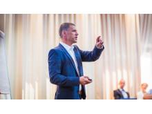 Andreas Myhre, direktør krafthandel i Entelios
