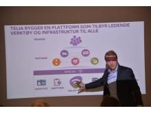 Teknisk direktør Jon Christian Hillestad, Telia Norge
