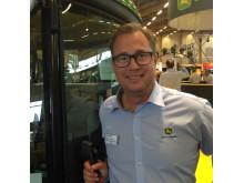 Peter Lundgren, Territory Manager på Svenska John Deere AB.