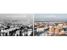 Umeå 1960 - och på 2000-talet