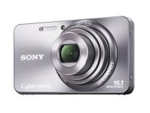 Cyber-shot DSC-W570 von Sony_Silber_03