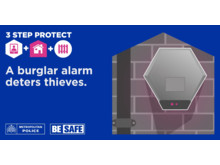 NEW 3 Step Protect-Burglar Alarm