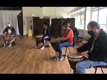 AFC Drumming workshop (SeptOct 2020) Credit Action for Carers