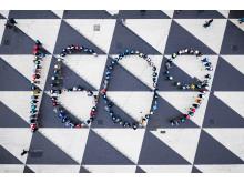 Bild från årets manifestation på Sergels torg. Foto David Brohede