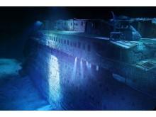 Das Wrack der Titanic ist im neuen 360°-Panorama von Yadegar Asisi zu sehen
