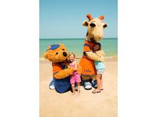 Flere norske og svenske end danske børn vil til sommer få et kram af Lollo og Bernie.