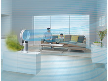 Dyson Pure Cool Desk Luftreiniger weiss