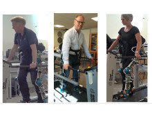 Exoskeleton for physical assistance