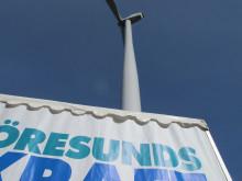 Invigning vindkraft Össjö 1