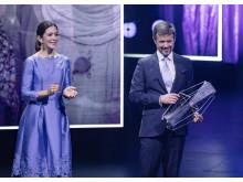 H.K.H. Kronprinsessen og H.K.H. Kronprinsen ved Kronprinsparrets Priser 2017 i Jysk Musikteater i Silkeborg