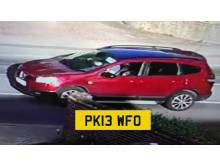 Red Nissan Qashqai police are appealing for