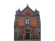 Katolska domkyrkan vid Medborgarplatsen i Stockholm