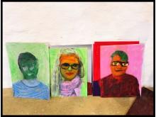 Porträtt från utställningen Öppna sinnen KÄR LEK på Katrinetorp Landeri