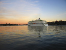 Birkas kryssningsfartyg i Stockholms hamn