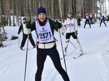 Jenny  och Susanna Kallur i Vasaloppet 45 2020
