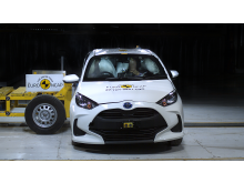 Toyota Yaris - far-side impact test Sept 2020