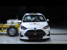 Toyota Yaris - far-side impact test Sept 2020