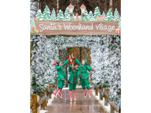 Santa's elves jump for joy as Winter Wonderland opens at Center Parcs Longford Forest