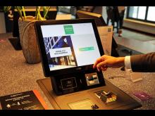 Digitaler Check-In Schalter im Légère Express