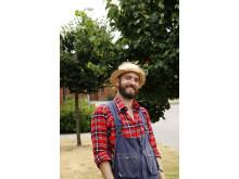 Peter Bengtsson öppnar upp sin trädgård i Ysby, Laholm under Tusen Trädgårdar den 29 juni