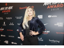 Sophia Thiel auf dem Red Carpet des MADE FOR MORE AWARDS