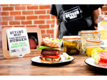 Beyond Burger and packaging