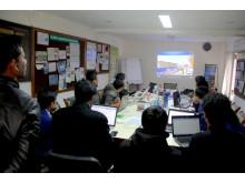 Minecraft-workshop i Nepal