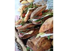 Goda och matiga smörgåsar från Fjällkonditoriet