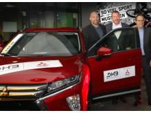 Mitsubishi Motors Sponsor der deutschen Handball Nationalmannschaft