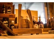 Handtillverkade skäggkammar från kanadensiska Big Red