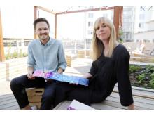 Erik Hadin och Emily-Claire Nordang