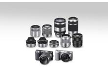 NEX-5N_black_silver_lens range