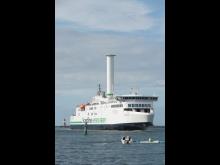 Copenhagen rotor sail Warnemünde_portrait