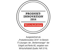 Produktinnovation des Jahres 2014