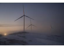 Roan vindpark, desember 2018